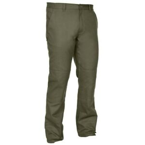 Green SOLOGNAC Waterproof Reinforced hunting Trousers 100