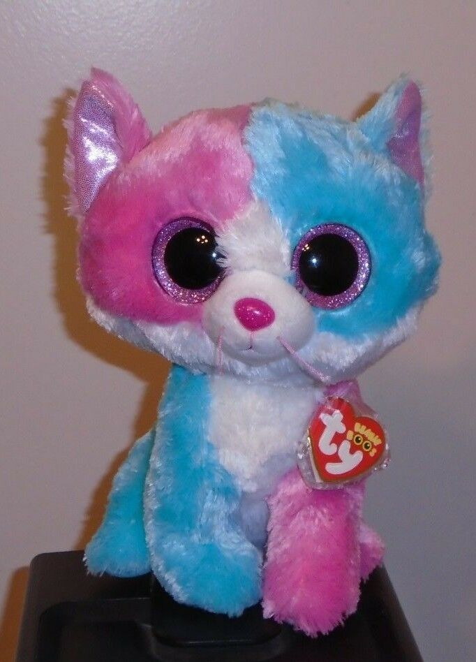 NM Ty Beanie Boos Buddy  FIONA the the the Cat 9  Medium (Justice Exclusive) NMWMT c820f5