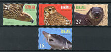 Romania 2017 MNH Endanged Species Otters 4v Set Birds Fish Wild Animals Stamps