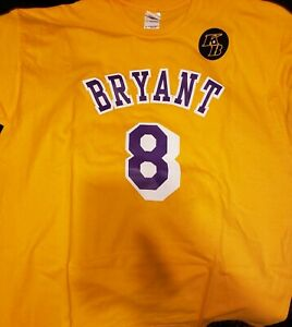 Details about Kobe Bryant Tribute T-Shirt XL 1/31/20 Staples Center Lakers Game #8 #24 New SGA