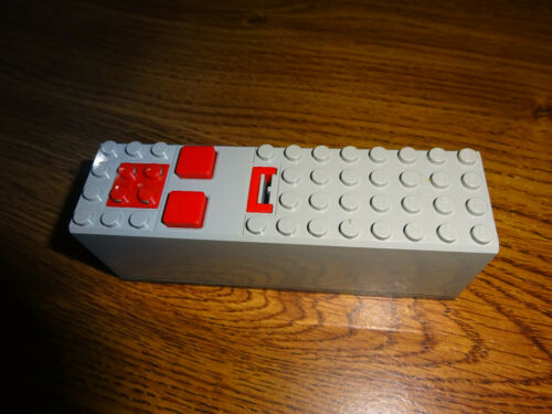 4 x 14 x 4 Lego 2847 Electric 9V Battery Box Lt Gray,Technic /& Other TESTED