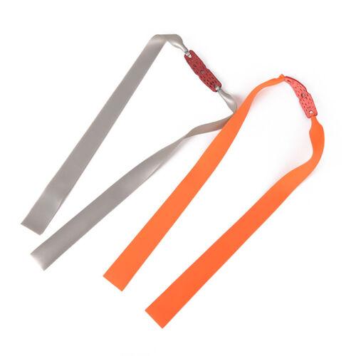 10Pcs Outdoor Slingshot Powerful Elastic Flat Rubber Band Hunting Sports/_G3