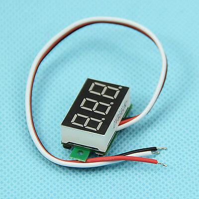 1pc DC0-100V New Mini Three Line LED Small Panel Meter Display Digital Voltmeter