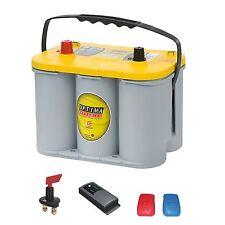 Rangierhilfe ecoeasy SET Optima 12V 55AH Ladegerät BC 10 Batteriepol  93528