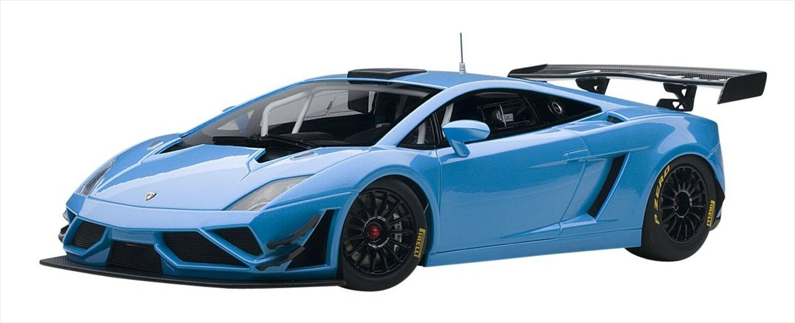 AUTOart 1/18 Lamborghini Gallardo GT3 FL2 2013 blu Composite Model 81359 NEW