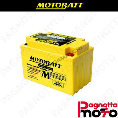 MOTOBATT YTZ14SBS MBTX9U BATTERIA YTZ14S-BS HONDA XL700V TRANSALP 700 2012-