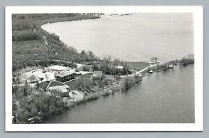 Details About Vintage Aerial Photo Bemidji Minnesotarare Vintage Photo Postcard 1968
