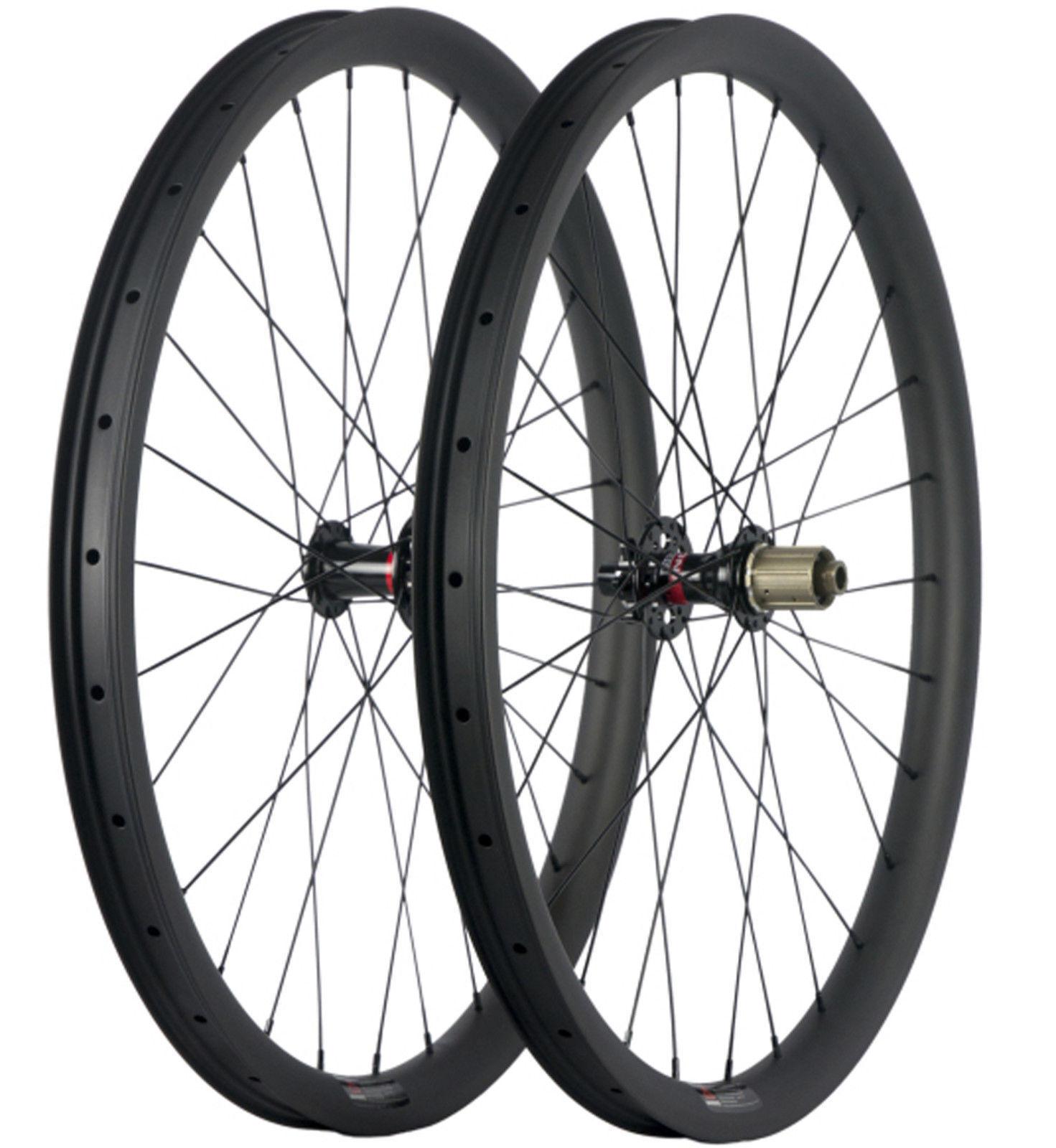 27.5 inch 30mm wide 30mm depth carbon mountain bike wheels 650B bicycle wheels