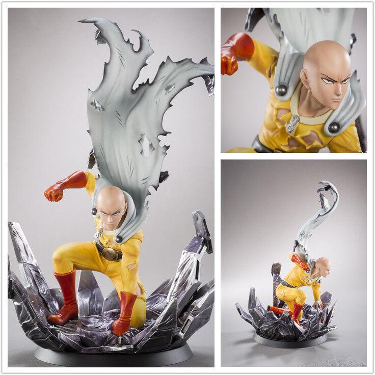 One Punch Man SAITAMA Toy Figure PVC Statue Doll Gift New No Box