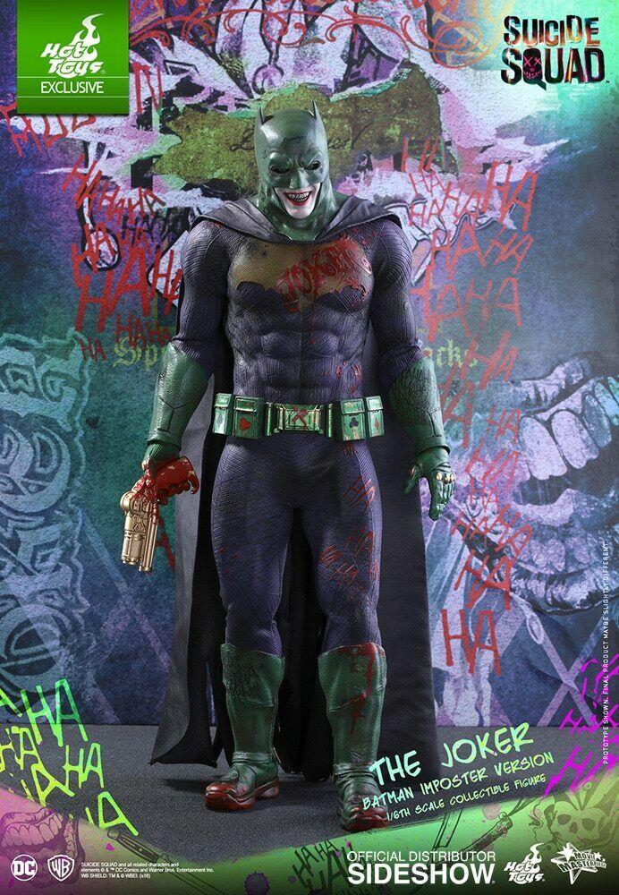 Hot Toys Joker BATMAN Imposter Version Version Version SUICIDE SQUAD - Movie Masterpiece NIB 007