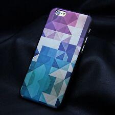 Coque Housse Etui carré mode tendance violet Pour IPhone 6 ( 4,7) CASE i phone