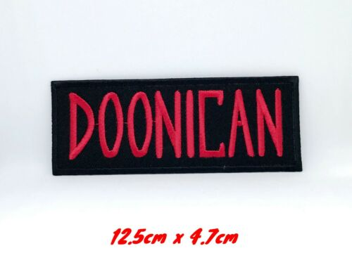Ghostbusters Team Member DOONICAN Embroidered Iron Sew on Patch #345