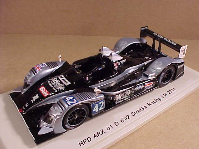 mejor servicio Spark HPD ARX de resina  S2535 S2535 S2535 1 43 01 D, P2 Class 2011 Lemans, Strakka Racing,  42  echa un vistazo a los más baratos