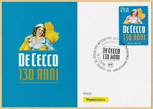 ITALIA-Cartolina-Filatelica-De-Cecco-Anno-2016