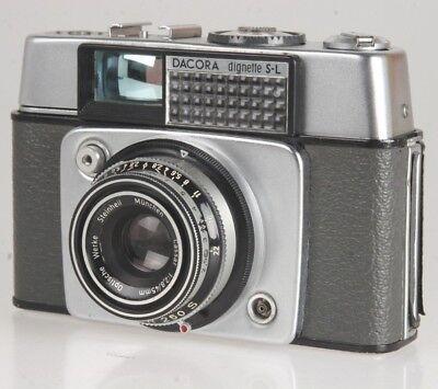 Foto & Camcorder Herrlich Dangelmaier Dacora Dignette S-l Mit 2,8/45mm Cassar #220066 Hohe QualitäT Und Preiswert Analoge Fotografie