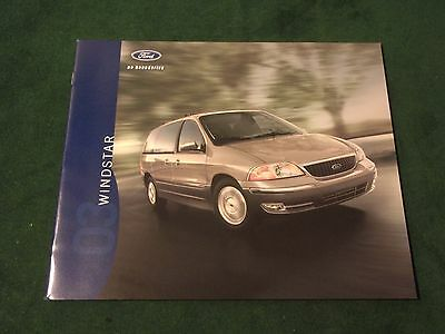 Crown Victoria Taurus Windstar Van Focus ZX2 2003 Ford 24-page Sales Brochure