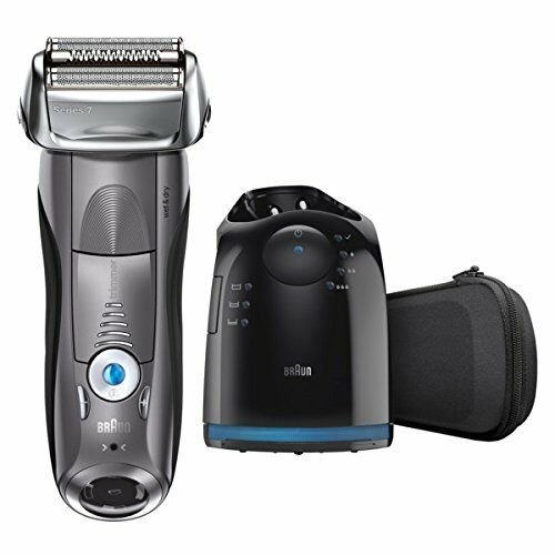 Braun SERIES 7 Rechargeable Shaver with Clean&Charge System 7865Cc