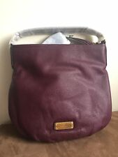 NWT MARC BY MARC JACOBS New Q Hillier Large Leather Hobo Shoulder Bag $428