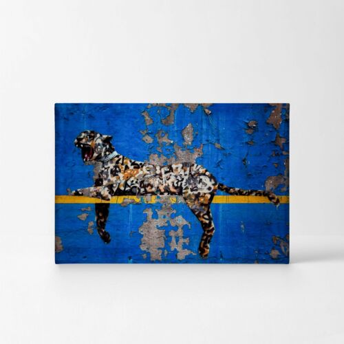 Banksy Art Bronx Zoo Yankee Stadium Tiger Graffiti from New York Wall Art