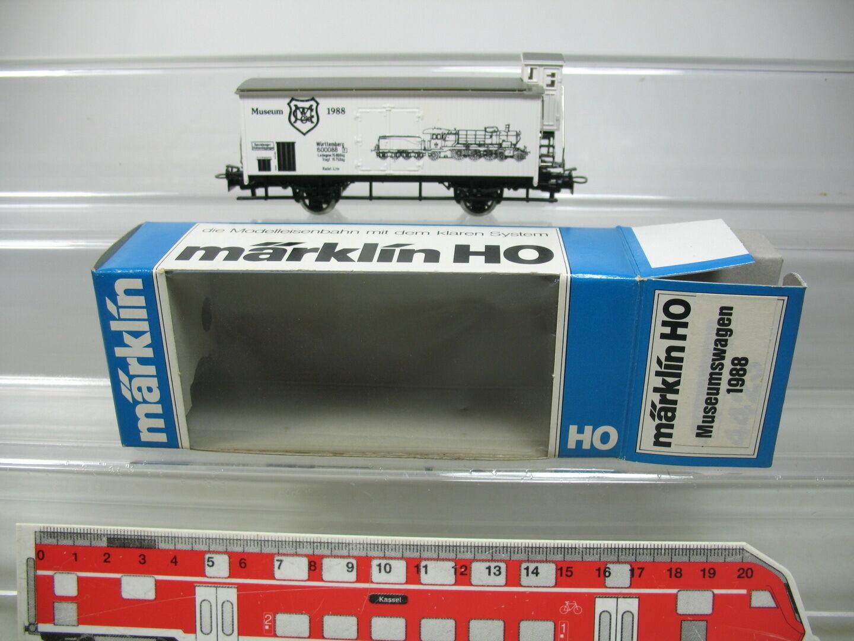 AG115-0,5     H0/AC CARRO MERCI / VAGONE DA MUSEO 1988 K. W. ST e NUOVO +