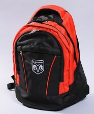 NEW DODGE BLACK BACKPACK BAG ram durango nigro viper dakota flag
