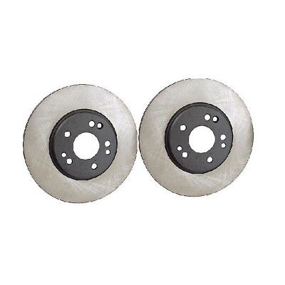 For Mercedes R107 W116 W126 Set of 2 Front Disc Brake Rotor w// Pads OPparts