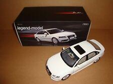 1/18 Audi A4 L A4L Sedan white color