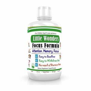 Liquid Brain Focus Vitamins For Kids Brain Vitamins For Children Memory Booster Ebay