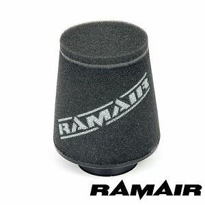 Ramair-Induccion-Cono-Espuma-Filtro-De-Aire-Universal-60mm-Offset-Cuello-hecho-en-el-Reino-Unido