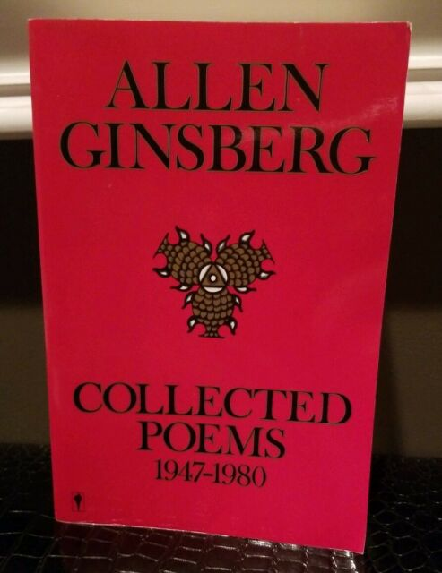 Collected Poems 1947 1980 By Allen Ginsberg 1988 Paperback