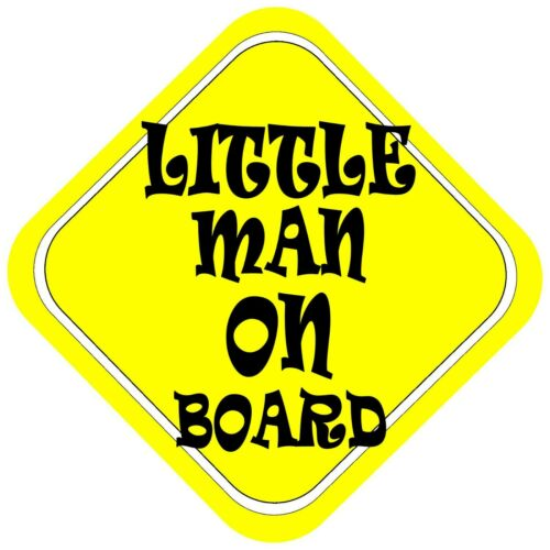 Little Manon BoardCar Baby Window Sign yellow great xmas gift