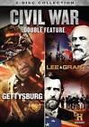 Civil War Double Feature: Gettysburg/Lee  Grant (DVD, 2013, 2-Disc Set)