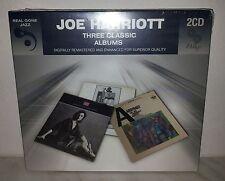2 CD JOE HARRIOTT - 3 CLASSIC ALBUMS - NUOVO NEW