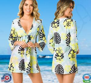 bd8e937baebc Image is loading COQUETA-Swimwear-Cover-Up-Dress-Island-Chiffon-Tunic-