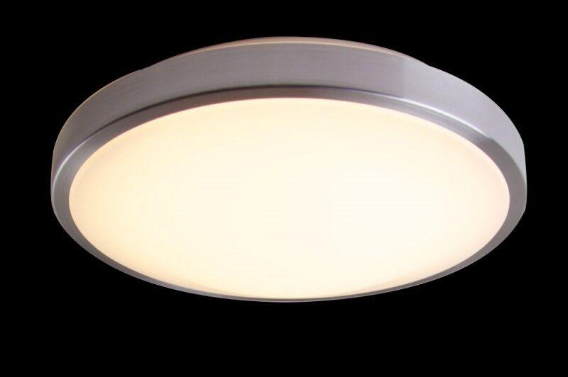 Plafoniera Per Soggiorno Bianco : Led plafoniera lampada da soffitto watt warmweiss
