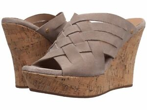 6f77504066b Details about Women's UGG® Marta High Wedge Sandals, 1015079 Sizes 6.5-11  Horchata Authentic
