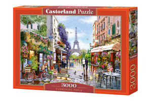 "Brand New Castorland Puzzle 3000 FLOWERING PARIS 36"" x 27"" C-300525"