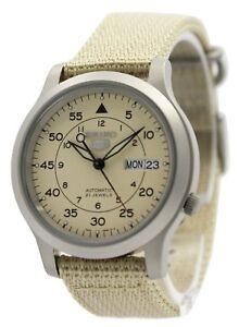 Seiko-5-Military-Automatic-Mechanical-Self-Winding-SNK803K2-Men-039-s-Watch