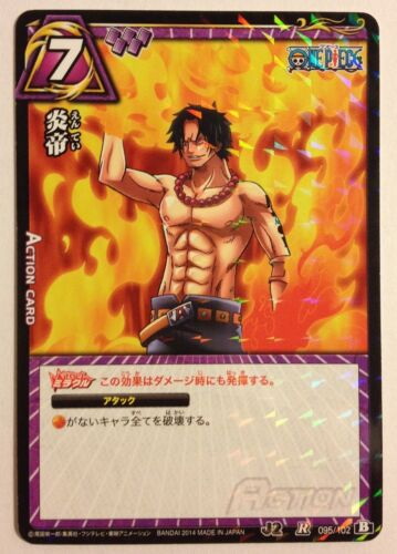 J-Heroes J2 One Piece Miracle Battle Carddass 095/102 R AS02
