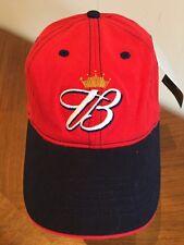 Budweiser NASCAR Dale Earnhardt Jr #8 Baseball Cap Red Flex Fit