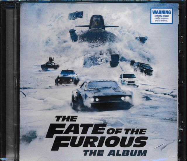 The Fate Of The Furious The Album CD NEW Kevin Gates Pitbull Migos