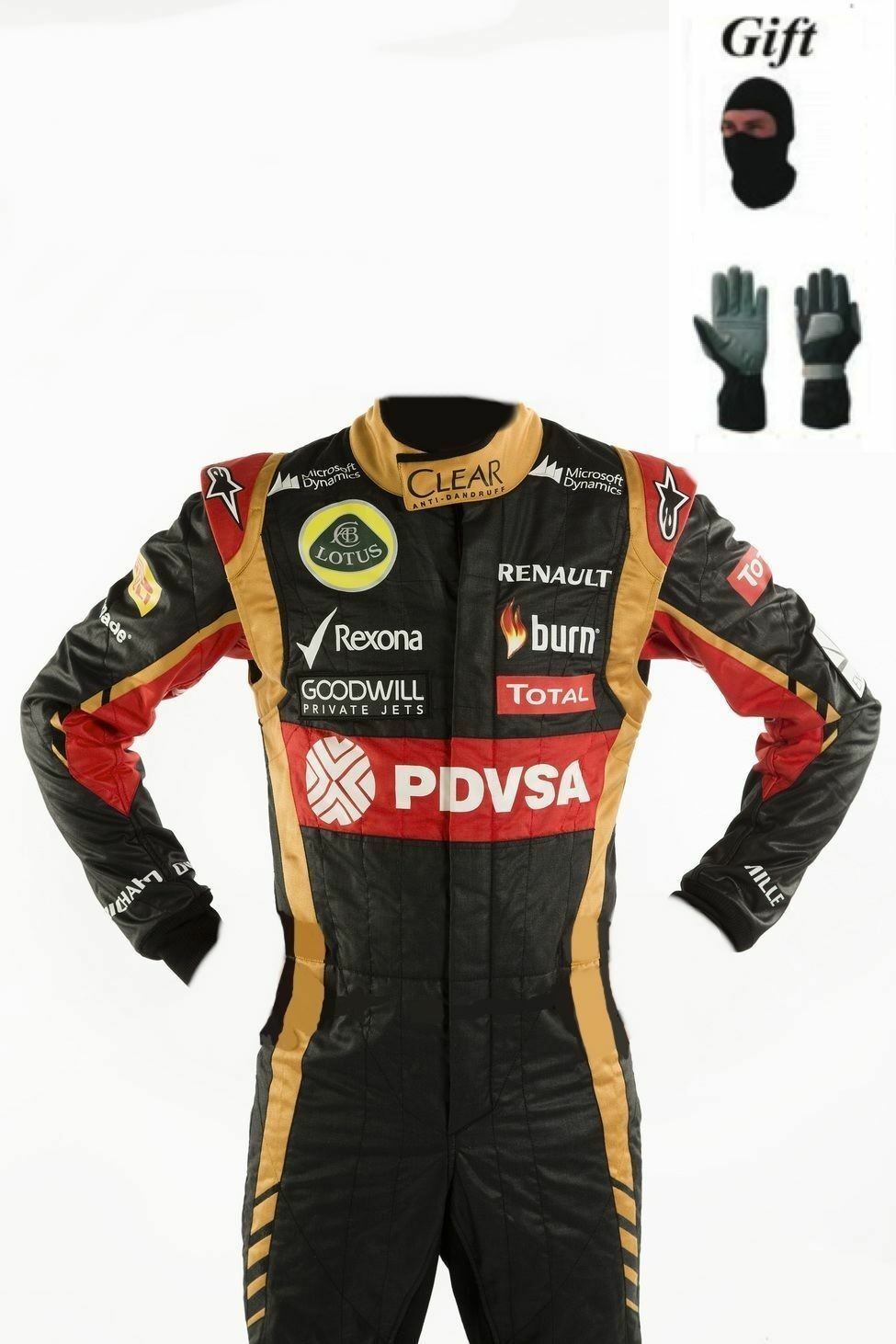 Lotus 2014 Kart race suit CIK FIA Level 2 (Free  gifts)  100% authentic