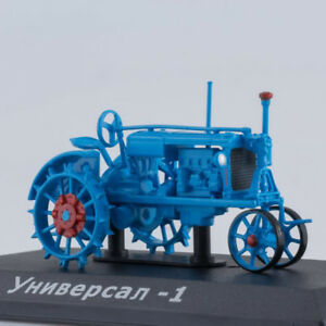 UNIVERSAL-Blue-Tractor-Soviet-Farm-Vehicle-USSR-1934-Year-1-43-Scale-HACHETTE