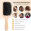 Hair-Brush-Sosoon-Boar-Bristle-Paddle-Hairbrush-for-Long-Thick-Curly-Wavy-amp thumbnail 4