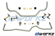 WHITELINE FRONT & REAR ANTI ROLL BARS HEAVY DUTY ADJUSTABLE FOR NISSAN 350Z Z33