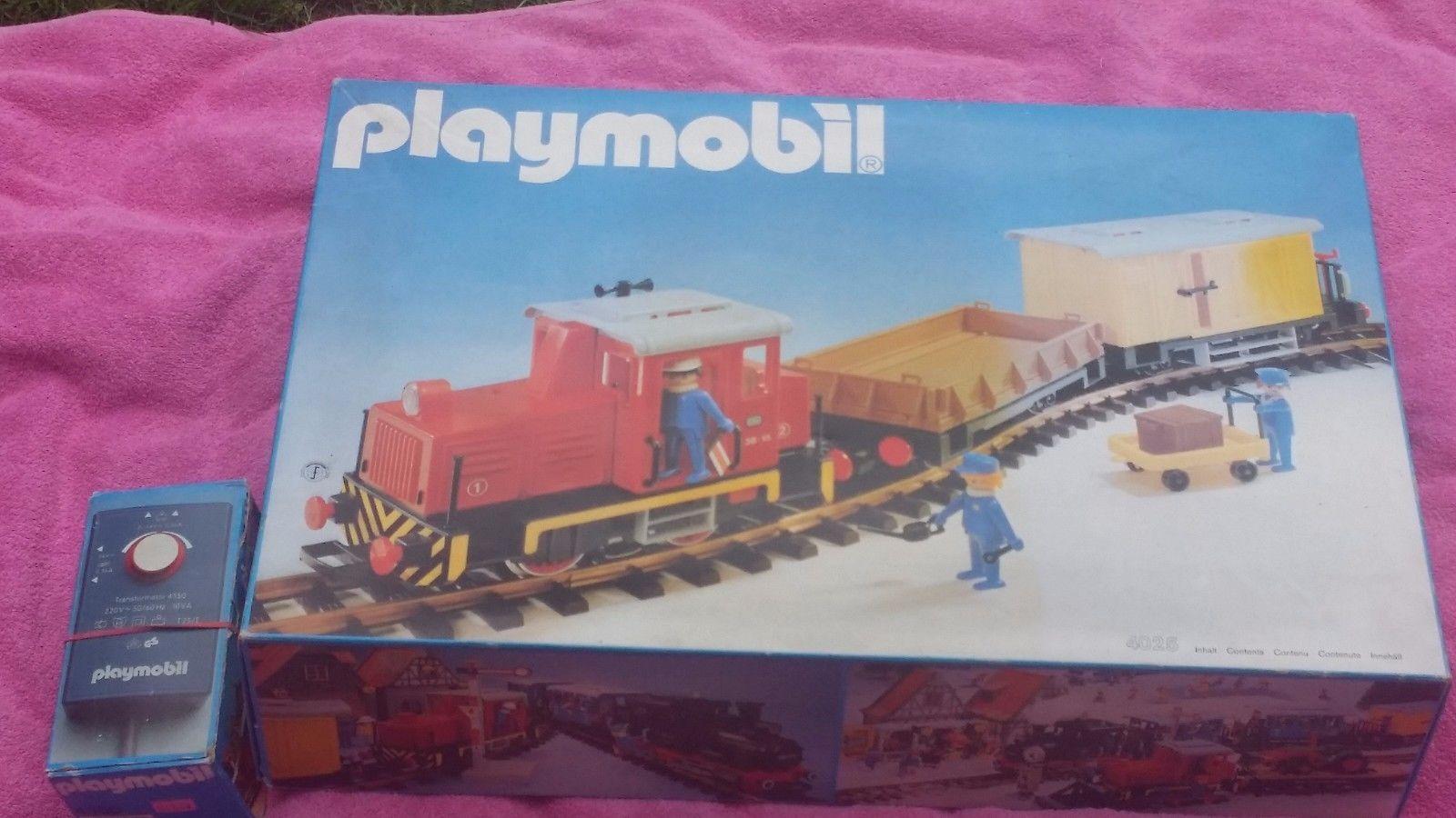 PLAYMOBIL® 4025 scatola  TRAIN WAGON VOYAGEUR RAIL RC LGB Accessoire Gare   3  LOT 1E  molto popolare