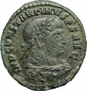 CONSTANTINE-I-the-GREAT-314AD-Rome-Authentic-Ancient-Roman-Coin-SOL-SUN-i77102