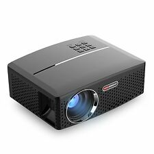 Portable Projector GP80 Mini Video Projector LCD LED Support HD 1080P for Home
