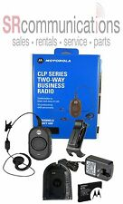 NEW MOTOROLA CLP1010 UHF 1W 1CH BUSINESS RADIO WAREHOUSE DENTAL SECURITY RETAIL