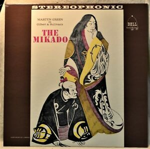 The-Mikado-Martyn-Green-Gilbert-amp-Sullivan-LP-NM-Vinyl-Bell-Stereo-Opera-Show